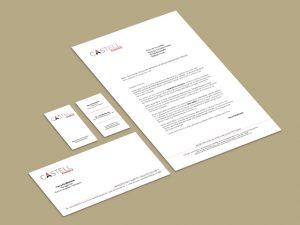 carte visite_correspondance_lettre Castell Synergie